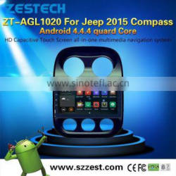 HOT SELL Car DVD Gps Navigation system for Jeep compass 2015 Android4.4.4 up double din car dvd
