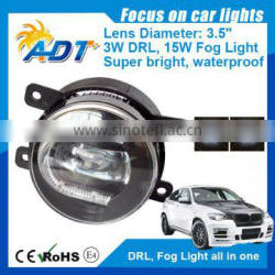 Hot sale 3.5 inch C-Shape beam DRL daytime running light fog light for Sentra,Murano 11-13, X-Trail 10-13, QUEST 11-13