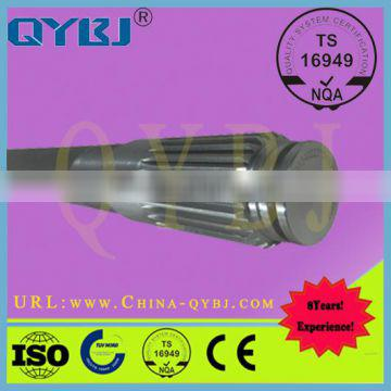 42CrMo material, HOWO supporting half shaft, professional auto parts manufacturer