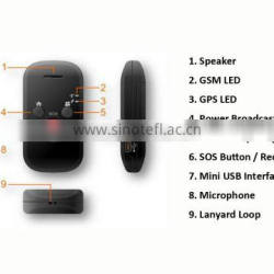 Hot sale gps/gprs/gsm personal tracker made in China / mini personal gps tracker