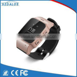 On sale quad-band universal GSM wifi sos phone emergency senior watch listening device gps tracker