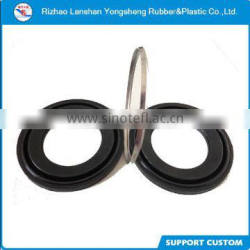 rubber boot with 304 stainless steel rubber gasket