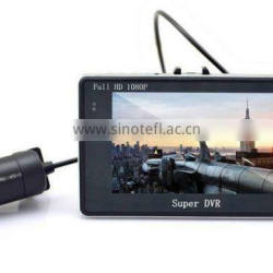 Newest High quality 4.3inch Android system 4X ZOOM GPS G-sensor wifi hd vehicle dvr