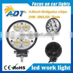 HOT 4INCH 21W LED WORK LIGHT BAR FLOOD BEAM OFFROAD DRIVING LIGHT for FOG 4WD LAMP UTE SUV