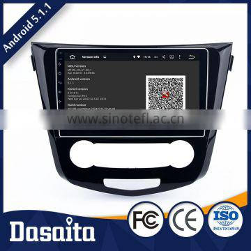 Cheap 10.2 Inch DIY Black screen CPU RK3188 dvd with Android 5.1.1 gps for car Nissan Qashqai 2014 2015
