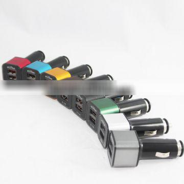 Customized professional 2 port mobile car charger for With ISO9001 Certificate