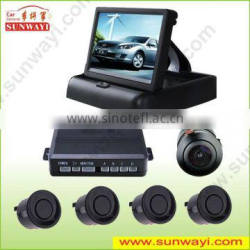 Alibaba china for universal car ultrasonic sensor 4.3 inch TFT mirror car camera
