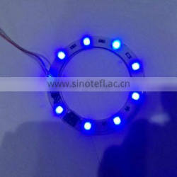 75mm 5050 Blue Flash Auto LED Ring light Angel Eyes ring