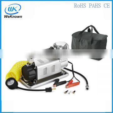 Portable car air tyre inflator pump with CE