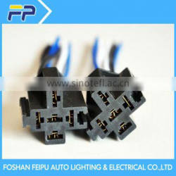 High quality auto bulb Relay black Harness Wiring Wire
