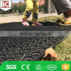 Durable in use garden gym shock proof rubber bar mat