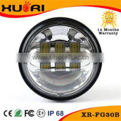 Factory Price 30W Crees motorcycle led headlight for harley 4inch 4.5inch led foglight