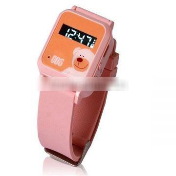 Accurate position locating remote voice monitoring SOS function gps kids security watch hidden anti-lost gps tracker