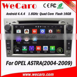 """Wecaro Android 4.4.4 touch screen in dash 6.95"""" car stereo gps navigation for opel astra h 2006-2011"""