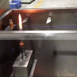 Horizontal Vertical Cable Burning Behavior Test Combustibility Tester