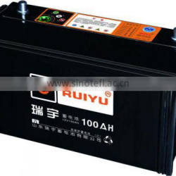 Sealed lead acid 12v car storage battery 60ah