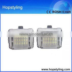 Free shipping china exporter car license/number plate lamp Canbus No Error code for Benz