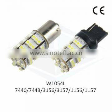 Bonjour LED Auto Light T20 7440 7443 54SMD 3528 1210 with CE