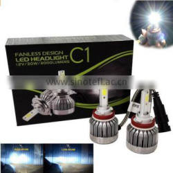 New Motorcycle H4 LED Headlight Bulbs H6 Hi/Lo H4 Bullet 30w 3000LM 12V Motobike