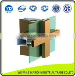 Aluminium Curtain Wall profiles for Exterior Glass wall