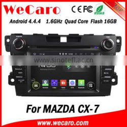 """Top Version Android 4.4.4 car stereo 7"""" 2 din for mazda cx7 android WIFI 3G 1080p 2012 +"""