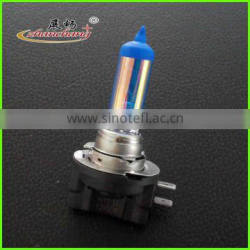 automotive halogen bulb H11b Platinum Blue Color with Blue Top