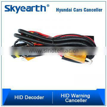 1 Set HID Conversion Kit Relay Harness With Resistors And Capacitors For Hyundai