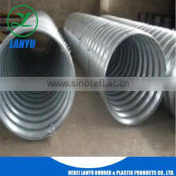 corrugated metal duct ditch culvert pipe