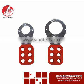 "WENZHOU BAOD Safety Steel Lockout Hasp with Lugs BDS-K8622 1.5"" Quality Choice"