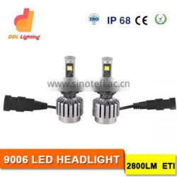 factory supply 9006 led head lamp car truck headlight for boats Headlight for cars