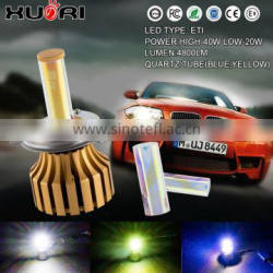 Super bright stable quality h4 h7 h11 h1 h3 led head light kits