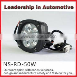 Good quality from NSSC 50w 12v 24v Led work light spot beam for truck marine suv