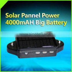 magnetic wcdma car solar gps tracker with sim card