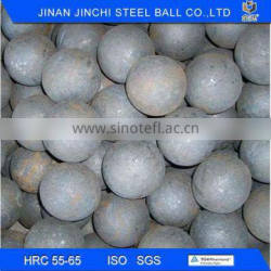 JCF no breakage forged Steel Balls for grinding mine
