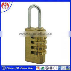 4 Digit Resettable Combination Luggage Padlock JN214