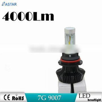 "7"" LED Headlight 9007 headlight is LED Work Lamp E-mark with h8 h9 h11 h4 h7 led headlight bulb"
