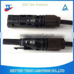 new PV system wires connectors MC4 with more length
