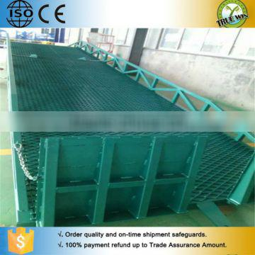 2016 Hot Sell Adjustable height favorable price triangle structure reliable Yard Ramp