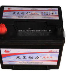 zhengfan battery 12v 60ah lead acid MF automotive car battery 6-QW-60 55D23R/L CAR BATTERY
