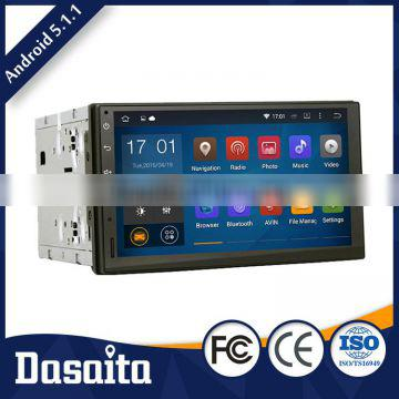 Multi touch screen Android 5.1.1 rmvb mkv car GPS radio dvd player for toyota
