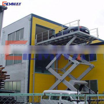 In ground scissor car lifts for home garages made in china