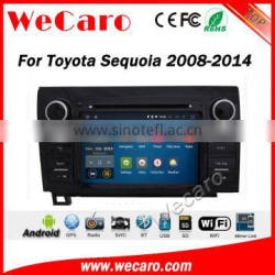 Wecaro WC-TU8071 android 5.1.1 car radio navigation for toyota Sequoia 2008-2014 car multimedia system WIFI 3G Playstore Quality Choice