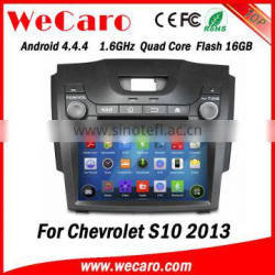"Wecaro WC-CS8065 8"" Android 4.4.4 car stereo double din car navigation system for chevrolet s10 radio gps bluetooth 2013"