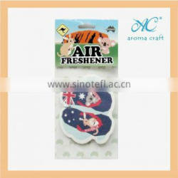 Factory promotion high quality eco-friendly for shoe shaped air freshener