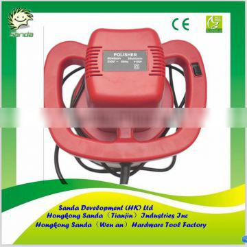 red color Electric car polisher