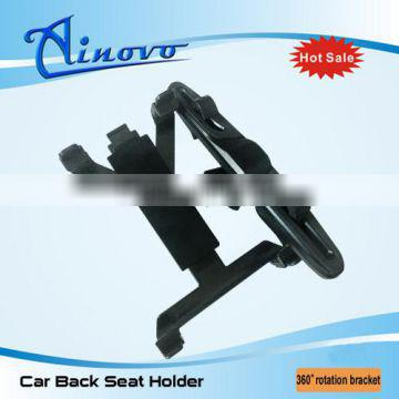 2016 hot selling car back holder for 7 inch tablet pc car seat back holder,universal stands for iPad/tablet PC