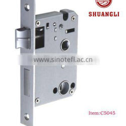 forend plate backset single bolt and latch 3 point lock with handle