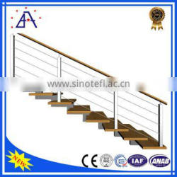 High Quality Silver Anodized Aluminum Portable Handrail