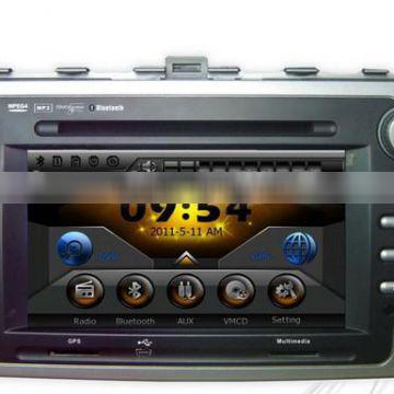 In dash special 3D interface car dvd player for mazda 6