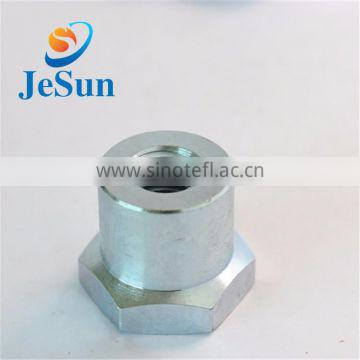 China manufacturing customized steel hex nut,cnc precision parts